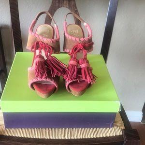 PacoGil Platform Sandals